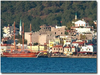 Blue Cruise in Marmaris Turkey