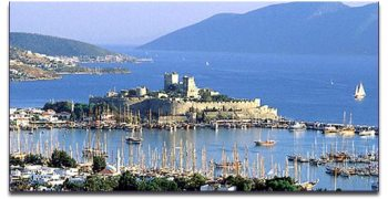 Cruise Greek Islands Bodrum Turkey