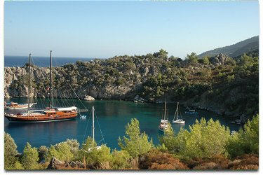 Blue Cruise in Datca Turkey