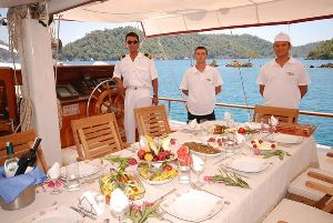 Turkey crewed charter yacht