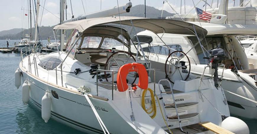 Sun Odyssey 50 DS (port Gocek)
