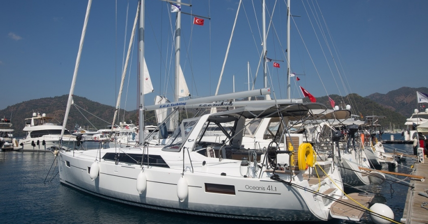 Oceanis 41.1 (porto Gocek)
