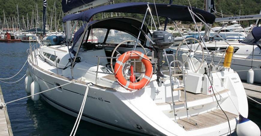Sun Odyssey 45 (порт Фетхие)