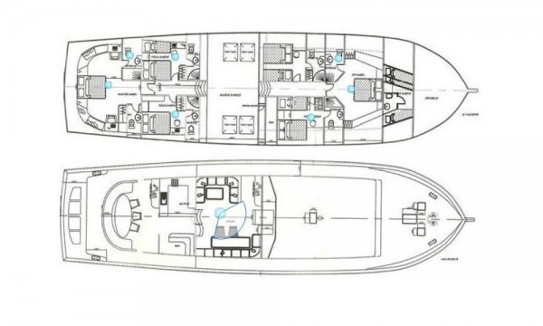 FREEDOM План яхты