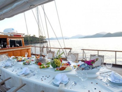 Turkish Cuisine on a Blue Cruise