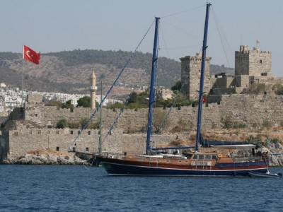 Bodrum-South Dodecanese Cruise 1